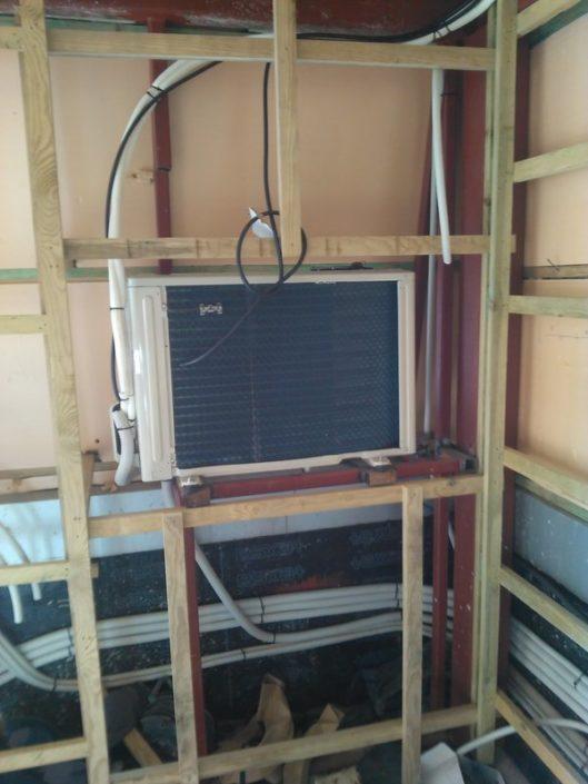 Climatización servicio