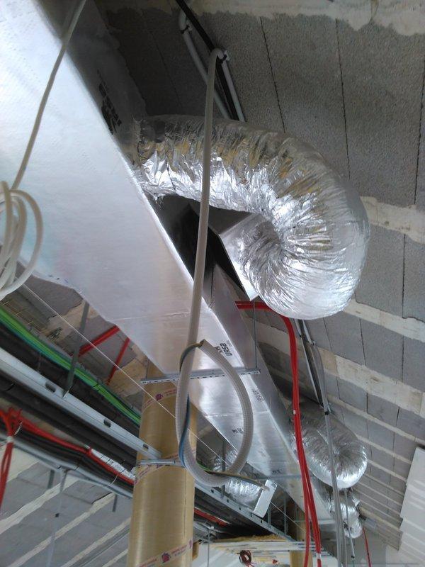 Renovación de aire y ventilación climatización