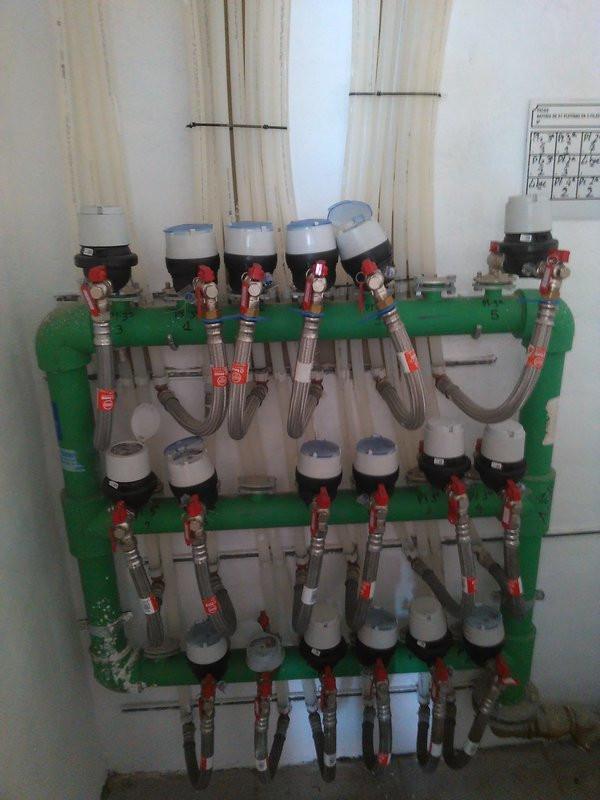 Cambio de contadores fontanería