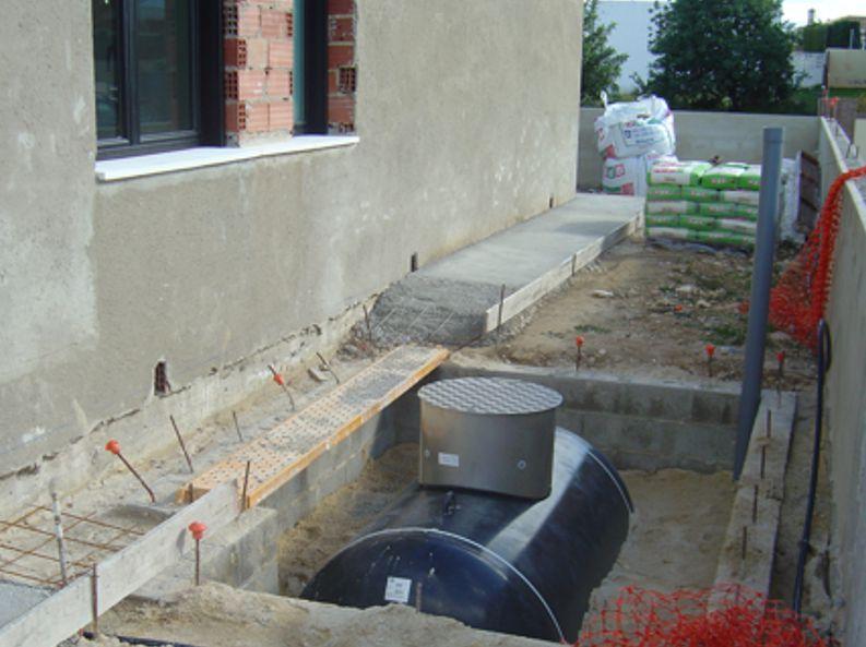 Instalación de depósitos subterráneos de propano gas